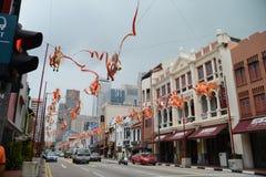 Singapur, 24. vom Dezember 2013 Stockfoto