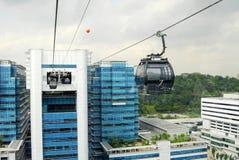 Singapur wagon kolei linowej Obrazy Stock