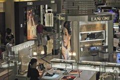 Singapur, wewnętrzny zakupy centrum handlowe Obrazy Royalty Free