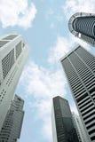 Singapur-Wolkenkratzer Lizenzfreies Stockfoto