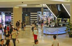 Singapur zakupy centrum handlowe Obraz Royalty Free