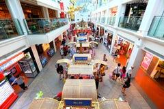 Singapur: Zakupy centrum handlowe Zdjęcie Stock