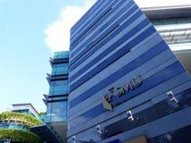 Singapur zarządzania uniwersytet Fotografia Royalty Free