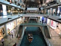 Singapura as lojas em Marina Bay Sands fotos de stock