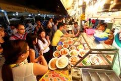 Singapura: Baía das glutões de Makansutra Imagens de Stock