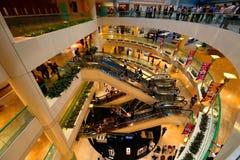 Singapura: Centro de compra da cidade das rifas Fotografia de Stock Royalty Free