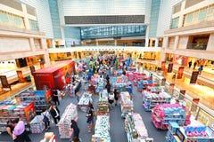 Singapura: Centro de compra da cidade das rifas Foto de Stock Royalty Free