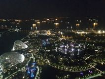 Singapura da parte superior imagem de stock royalty free