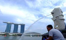 SINGAPURA - 18 de janeiro de 2016: Fotos de Stock