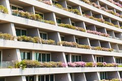 Singapura, Singapura: 19 de mar?o de 2019: Marina Bay Sands Luxury Hotel, Singapura fotos de stock royalty free