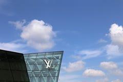 Singapura Louis Vuitton Fotografia de Stock