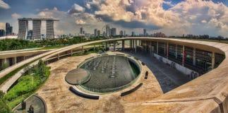 Singapura Marina Barrage fotos de stock royalty free