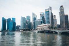 SINGAPURA, SINGAPURA - 17 DE JULHO DE 2015: Vista de Singapura do centro Fotografia de Stock
