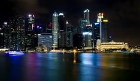 SINGAPURA, SINGAPURA - 19 DE JULHO DE 2015: Vista de Singapura do centro Imagem de Stock Royalty Free