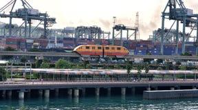 Singapura Skytrain foto de stock