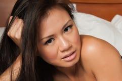 Singapurianische Frau Lizenzfreies Stockfoto