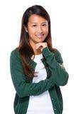 Singapurische junge Frau Lizenzfreies Stockfoto