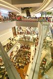 Singapurs Juwel bei Changi Aiport stockfotografie