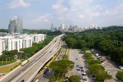 Singapurschlafenbezirk stockbilder