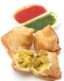 Singara curry'ego chuch Zdjęcia Royalty Free
