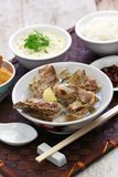 Singare bak kut teh, spicy pork rib soup Stock Photos