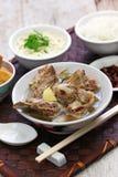 Singare bak kut teh, spicy pork rib soup Stock Photos