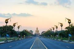 Singburi的泰国大菩萨 免版税库存图片