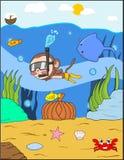 Singe à la mer Photographie stock libre de droits