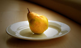 A Single Pear royalty free stock photos