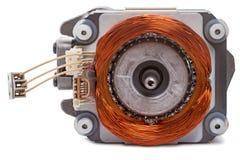 Singel-fas elektrisk motor fotografering för bildbyråer