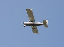 Singel-motor flygplan Arkivfoton