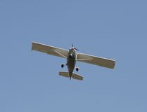 Singel-motor flygplan Royaltyfri Fotografi