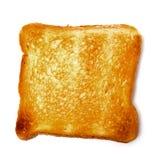 Singeln släntrar rostat bröd Royaltyfria Foton