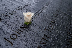 Singeln steg minnesmärke 9-11 Royaltyfri Foto