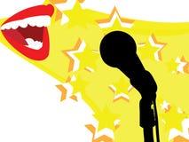 Singen Sie Stockbild