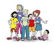 Singende Kinder Stockbilder