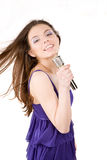 Singer Royalty Free Stock Image