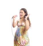 Singer Stock Photos