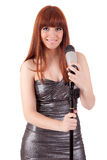 Singer Royalty Free Stock Photography