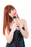 Singer Royalty Free Stock Photo