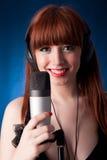 Singer Royalty Free Stock Image