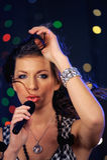 Singer Stock Images