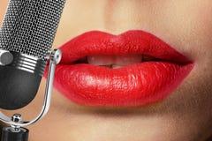 singer Stock Fotografie