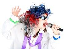 singer Στοκ φωτογραφίες με δικαίωμα ελεύθερης χρήσης