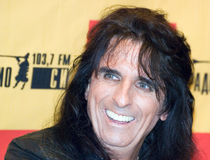 Singer Alice Cooper Royalty Free Stock Images