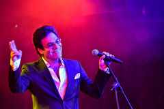 Singer Andy Madadian performs on stage during the Big Apple Music Awards 2016 Concert Stock Photography