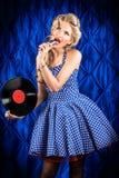 Singer art Stock Photo