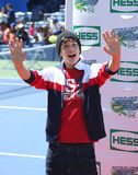 Singer Austin Mahone attends Arthur Ashe Kids Day 2013 at Billie Jean King National Tennis Center Stock Photos