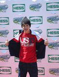 Singer Austin Mahone attends Arthur Ashe Kids Day 2013 at Billie Jean King National Tennis Center Royalty Free Stock Photography