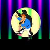 Singer.c Arkivfoto